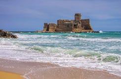 La Castella. Castle in Italy Stock Photo