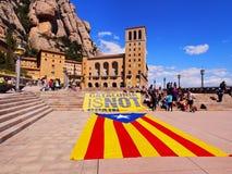 La Catalogne n'est pas l'Espagne Images stock