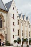 La catedral adentro enoja el castillo, Francia Fotografía de archivo