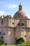 La catedral antigua de Milazzo: detalle Fotos de archivo libres de regalías