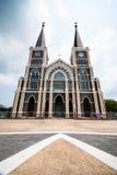 La catedral católica en Chantaburi, Tailandia Imagen de archivo