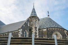 La catedral de Christchurch una catedral anglicana icónica en la ciudad de Christchurch, Nueva Zelanda fotografía de archivo
