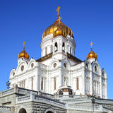 La catedral de Cristo el salvador Imágenes de archivo libres de regalías