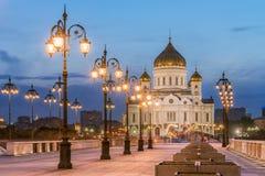 La catedral de Cristo el salvador del lado del Patriarc Foto de archivo libre de regalías