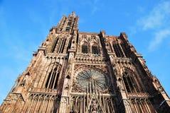 La catedral de Estrasburgo Fotos de archivo