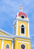 La catedral de Granada en Nicaragua Imagen de archivo libre de regalías