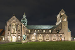 La catedral de Hildesheim Imagenes de archivo