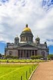 La catedral de Isaac Imágenes de archivo libres de regalías