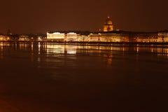 La catedral de Isaac del santo (St Petersburg) Fotografía de archivo