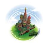La catedral de la albahaca del santo Fotos de archivo libres de regalías