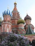 La catedral de la albahaca del St, Rusia Imagen de archivo libre de regalías