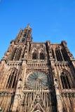 La catedral de la ciudad de Estrasburgo Fotografía de archivo