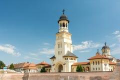 La catedral de la coronación de Alba Iulia Fotos de archivo