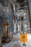 La catedral de la epifanía del siglo XIX en Uglich, Rusia Foto de archivo libre de regalías