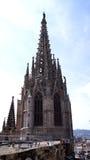 La Catedral De-La Santa Cruz y Sankt Eulalia Lizenzfreie Stockfotos