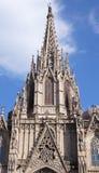 La Catedral de la Santa Cruz y Santa Eulalia Stock Image