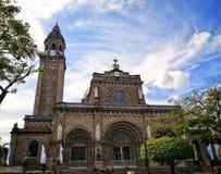 La catedral de Manila Foto de archivo libre de regalías