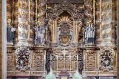 La catedral de Oporto Foto de archivo libre de regalías