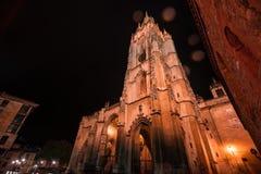 La catedral de Oviedo imágenes de archivo libres de regalías