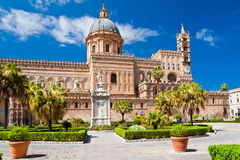 La catedral de Palermo Imagen de archivo libre de regalías