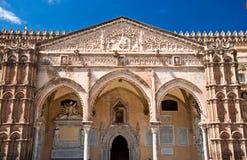 La catedral de Palermo Fotografía de archivo