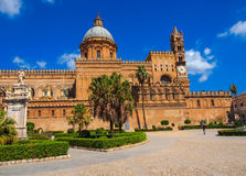 La catedral de Palermo Foto de archivo