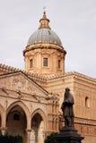 La catedral de Palermo Imagen de archivo