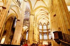 La catedral de Regensburg Fotografía de archivo libre de regalías