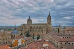 La catedral de Salamanca Fotografía de archivo