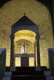 La catedral de San Leo en Italia Fotos de archivo