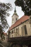 La catedral de San Martín, Bratislava Fotografía de archivo libre de regalías