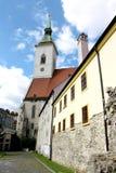La catedral de San Martín, Bratislava (Eslovaquia) Foto de archivo libre de regalías