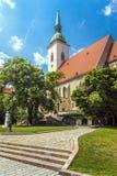 La catedral de San Martín, Bratislava, Eslovaquia imagen de archivo libre de regalías