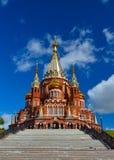 La catedral de San Miguel, Izhevsk Foto de archivo libre de regalías
