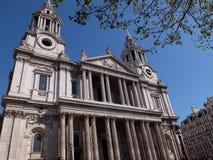La catedral de San Pablo Imágenes de archivo libres de regalías