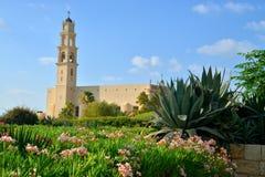 La catedral de San Pedro en Jaffa Imagen de archivo libre de regalías