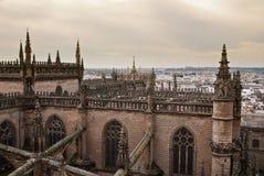 La catedral de Sevilla, España Imágenes de archivo libres de regalías