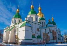 La catedral de Sophia del santo en Kiev, Ucrania imagenes de archivo