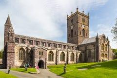 La catedral de St David, País de Gales Imágenes de archivo libres de regalías
