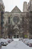 La catedral de St John - invierno Foto de archivo libre de regalías