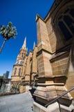 La catedral de St Mary, Sydney, Australia Foto de archivo libre de regalías