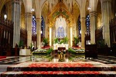 La catedral de St Patrick en Pascua 2019 54 fotografía de archivo