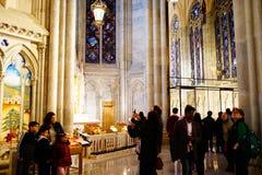 La catedral de St Patrick en Pascua 2019 41 foto de archivo