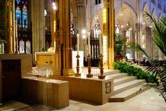 La catedral de St Patrick en Pascua 2019 38 fotografía de archivo
