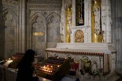 La catedral de St Patrick en Pascua 2019 29 foto de archivo libre de regalías
