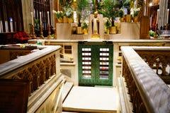 La catedral de St Patrick en Pascua 2019 26 imagen de archivo libre de regalías