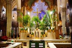 La catedral de St Patrick en Pascua 2019 20 fotografía de archivo libre de regalías