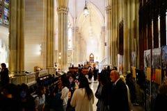 La catedral de St Patrick en Pascua 2019 10 imagen de archivo libre de regalías