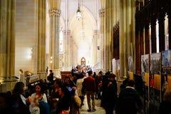 La catedral de St Patrick en Pascua 2019 9 foto de archivo libre de regalías