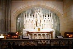 La catedral de St Patrick en Pascua 2019 7 fotos de archivo libres de regalías